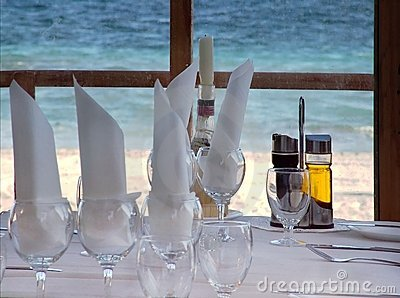 Beachside Restaurant View