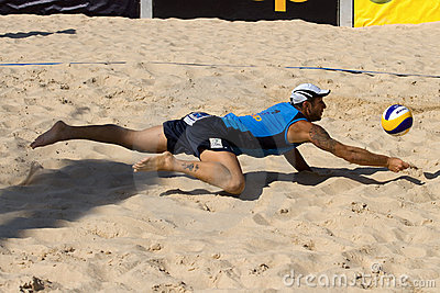 Beachvolley - 21st FIVB Lausanne Satellite Editorial Photo