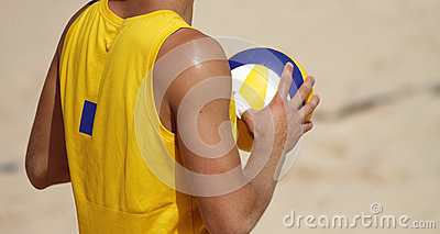 Beachvolley Player