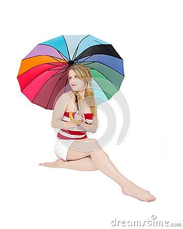 beachwear girl fashion