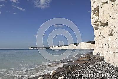 Beachy Head coastline