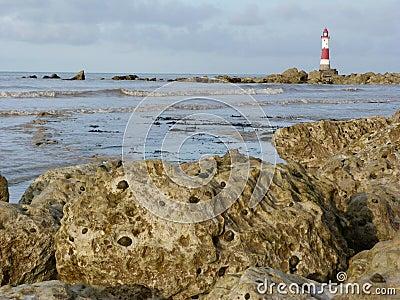 Beachy Head Light House Near Eastbourne
