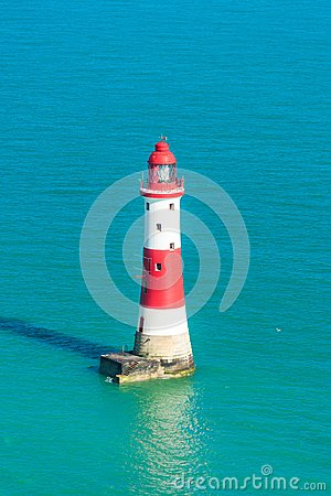 Free Beachy Head Lighthouse Stock Image - 117463201