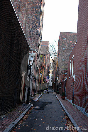 Free Beacon Hill Alley Royalty Free Stock Photos - 1506828