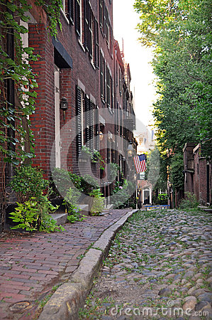 Beacon Hill, Historic Boston Street