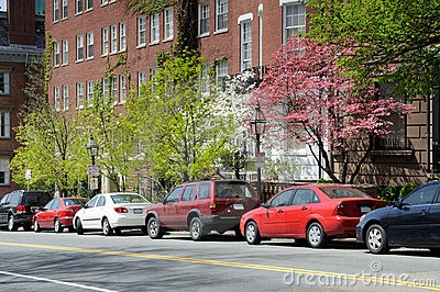 Beacon Hill in the Spring