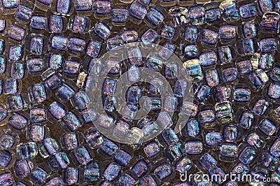 Bead background glass