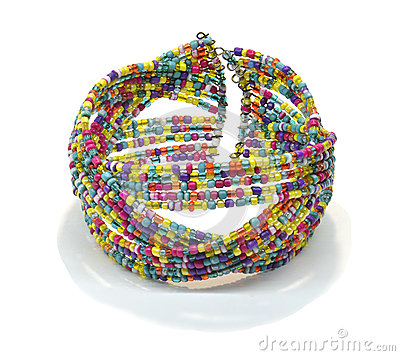Free Bead Bracelet Stock Photo - 43113520