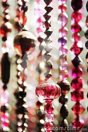 Free Bead Curtains In Moroccan Style Stock Photo - 104034620
