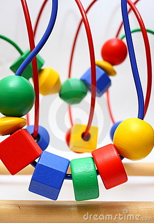 Bead Roller Coaster Toys