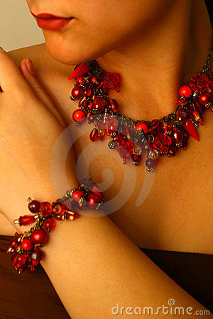 Free Beaded Jewels Stock Image - 1201401