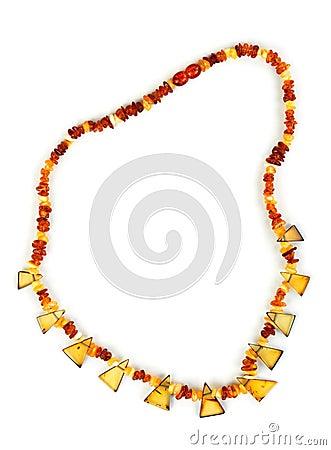 Beads of amber