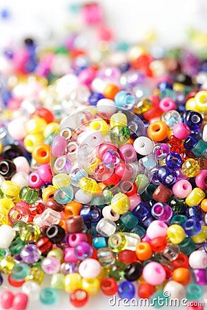 Free Beads Background Royalty Free Stock Image - 21464906