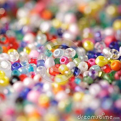 Free Beads Background Stock Image - 21465761