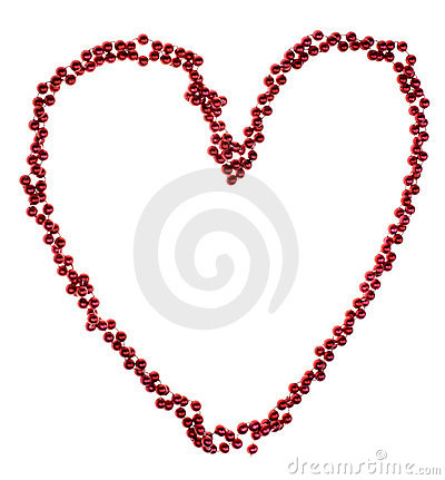 Beads in heart