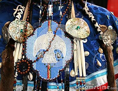 Beadwork del indio de Ottawa