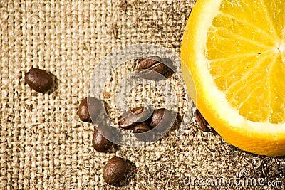 Bean and orange taste
