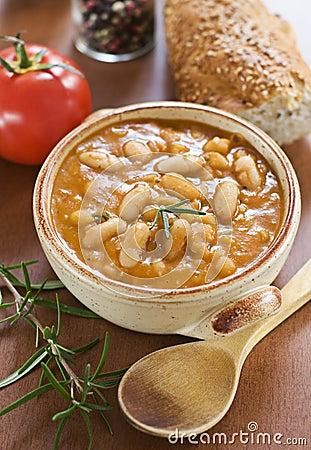 Free Bean Stew Royalty Free Stock Photo - 10541115