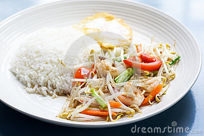 Beansprout с креветкой