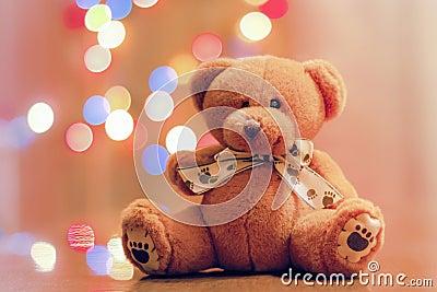 Bear as a gift