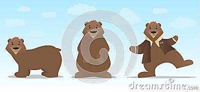 Bear Character Set