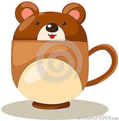 Bear cup