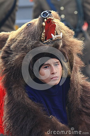 Free Bear Dance Parade Royalty Free Stock Photos - 72821948