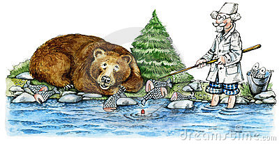 Bear-fisher