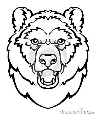 Free Bear Head Royalty Free Stock Image - 17063326