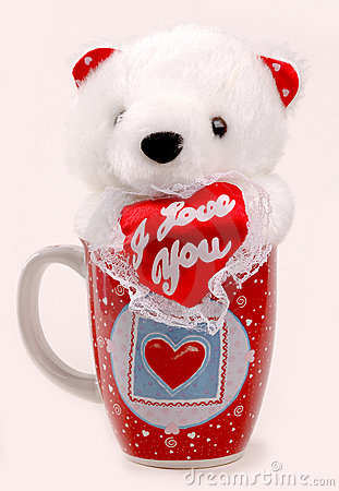 Free Bear In A Cup Stock Photo - 446720