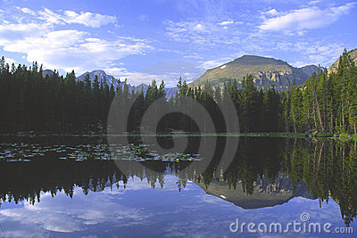 Bear Lake in Rocky Mountains