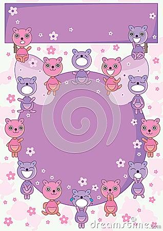Bear Land Circle Card_eps