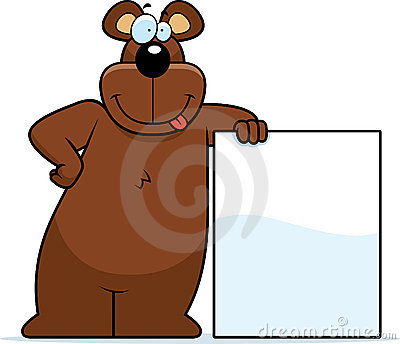 Bear Leaning
