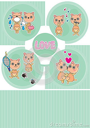 Bear Love Story Card_eps