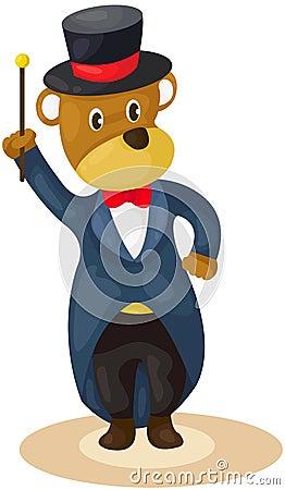 Bear magician