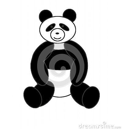 Bear a panda
