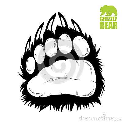 Free Bear Paw Stock Image - 27351731