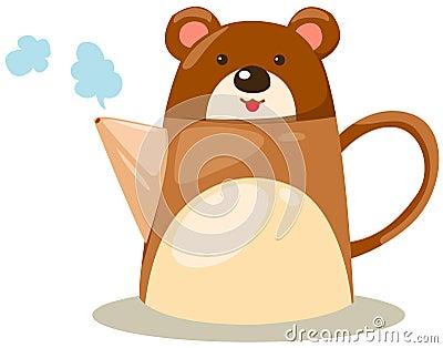 Bear pot