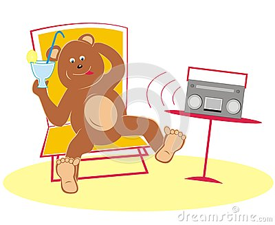 Bear and radio