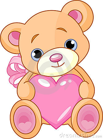 Free Bear With Heart Royalty Free Stock Photo - 15726155