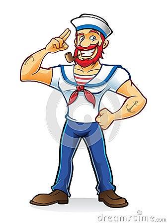 Free Beard Sailor Royalty Free Stock Image - 29213076