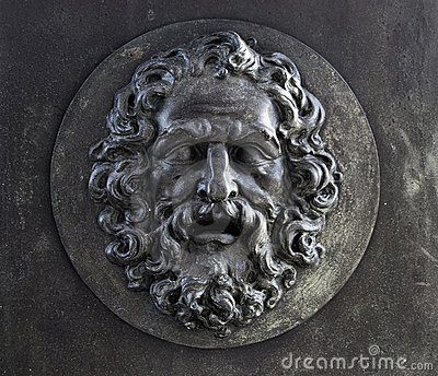 Bearded Man Relief