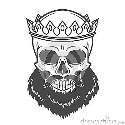 Bearded Skull King Wit...