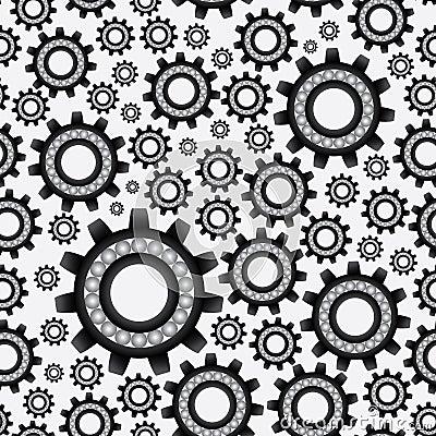 Bearing abstract pattern eps10