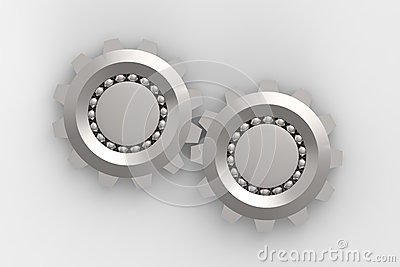 Bearings Connection Royalty Free Stock Images - Image: 25789199