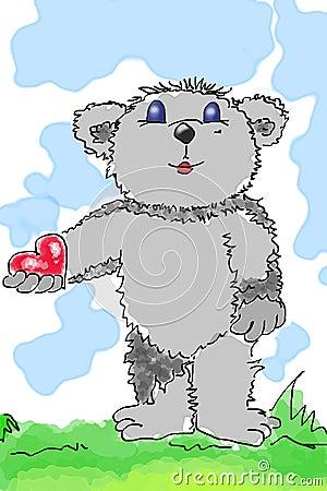 Beary-heart