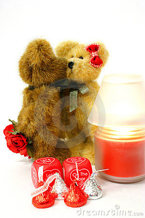 Free Beary Much In Love Royalty Free Stock Images - 444829