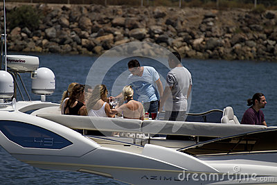 Beat The Heat Boating In California Editorial Stock Photo