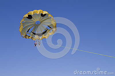Beat The Heat Parasailing In California Editorial Stock Image