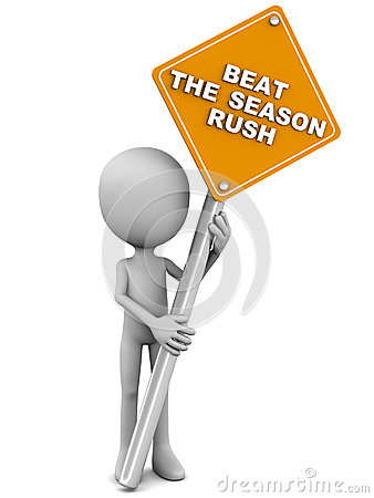 Beat the season rush